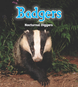 Badgers : Nocturnal Diggers-9781406282856