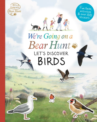 We're Going on a Bear Hunt: Let's Discover Birds-9781406379952