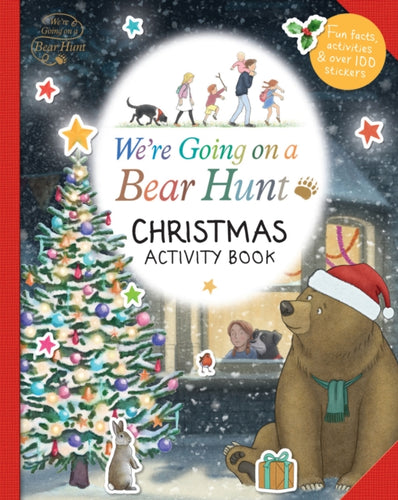 We're Going on a Bear Hunt: Christmas Activity Book-9781406384512