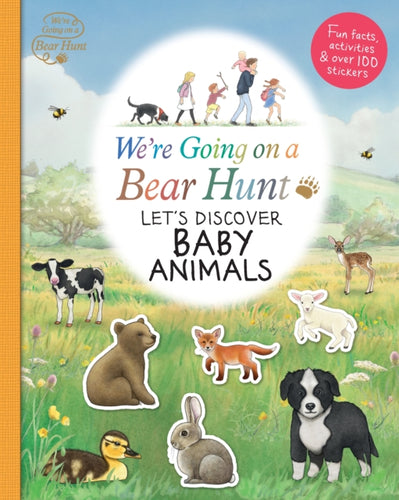 We're Going on a Bear Hunt: Let's Discover Baby Animals-9781406387759