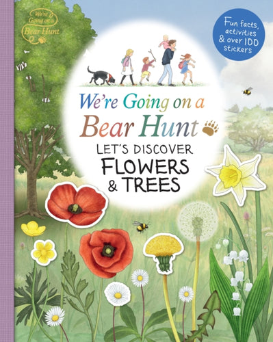 We're Going on a Bear Hunt: Let's Discover Flowers and Trees-9781406387766