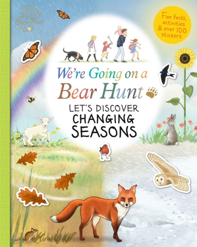 We're Going on a Bear Hunt: Let's Discover Changing Seasons-9781406391596