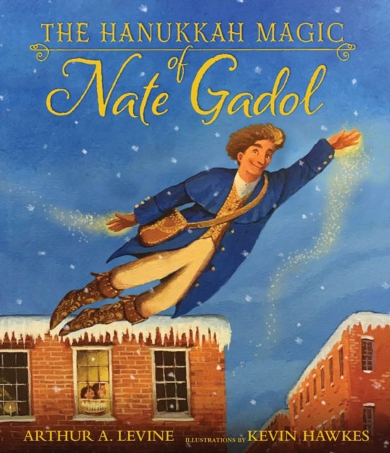 The Hanukkah Magic of Nate Gadol-9781406395556