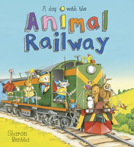 A Day with the Animal Railway-9781407171807