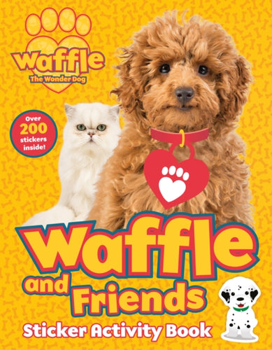 Waffle and Friends! Sticker Activity Book-9781407198316