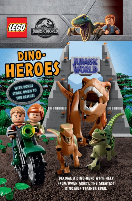 Dino Heroes (with bonus story Owen to the Rescue)-9781407198804