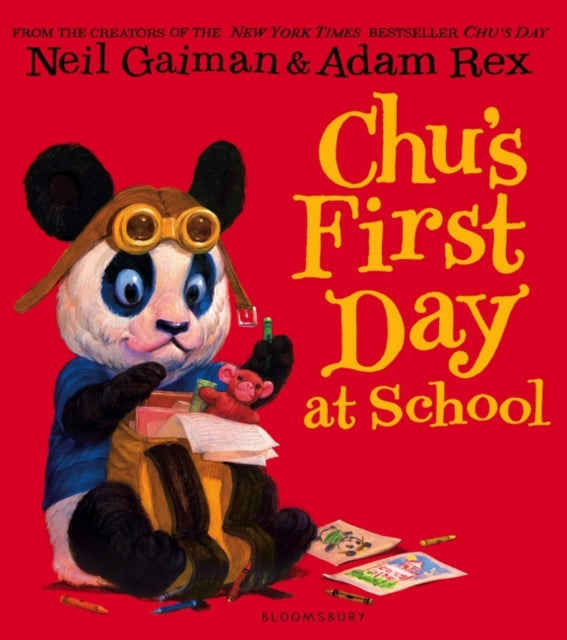 Chu's First Day at School-9781408847046