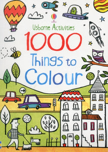 1000 THINGS TO COLOUR-9781409555391