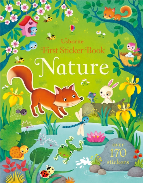 First Sticker Book Nature-9781409597476