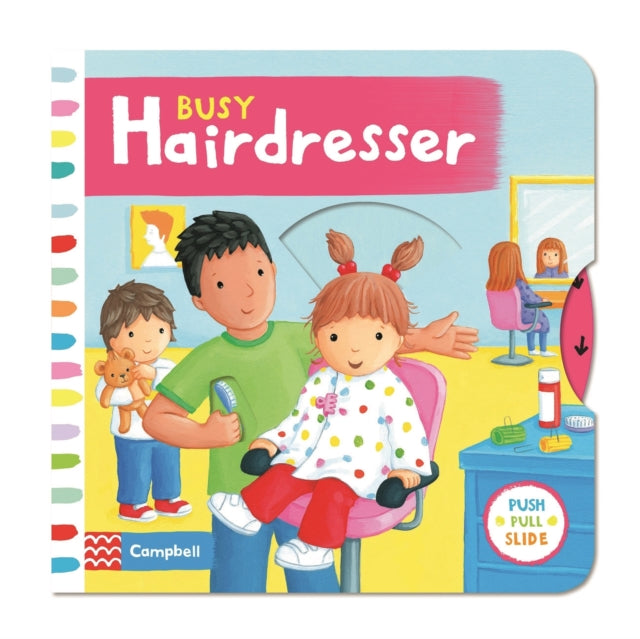 Busy Hairdresser-9781447285090