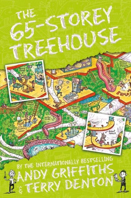 The 65-Storey Treehouse-9781447287599