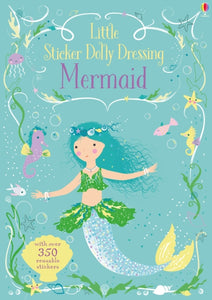 Little Sticker Dolly Dressing Mermaid-9781474921855
