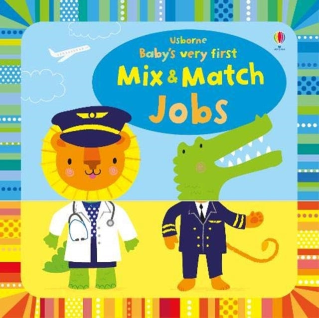 Baby's Very First Mix and Match Jobs-9781474967853