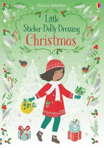 Little Sticker Dolly Dressing Christmas-9781474989084