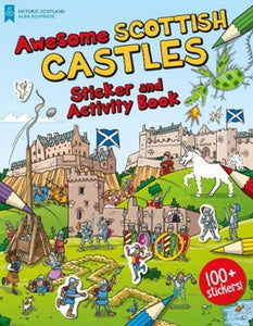 Awesome Scottish Castles : Sticker and Activity Book-9781782506317