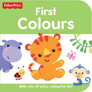 Fisher Price Rainforest Friends Colours-9781782965619