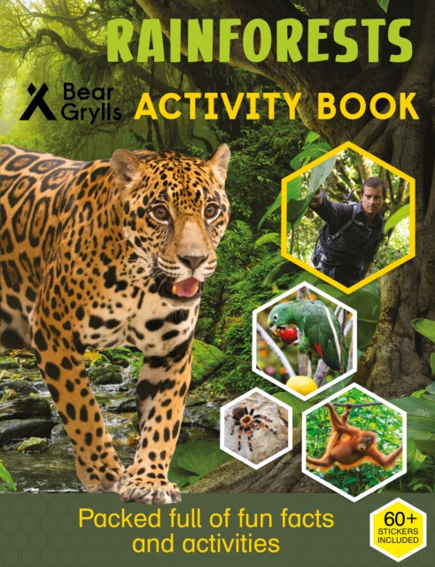 Bear Grylls Sticker Activity: Rainforest-9781786960856