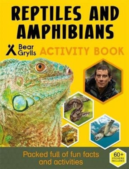 Bear Grylls Sticker Activity: Reptiles & Amphibians-9781786961051