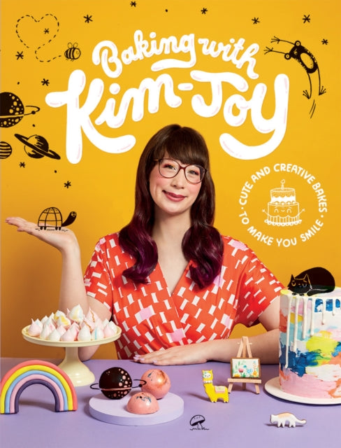 Baking with Kim-Joy : Cute and Creative Bakes to Make You Smile-9781787134584