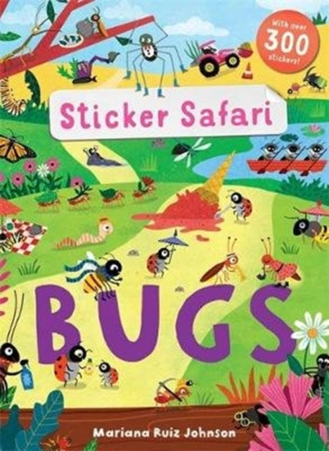 Sticker Safari: Bugs-9781787414952