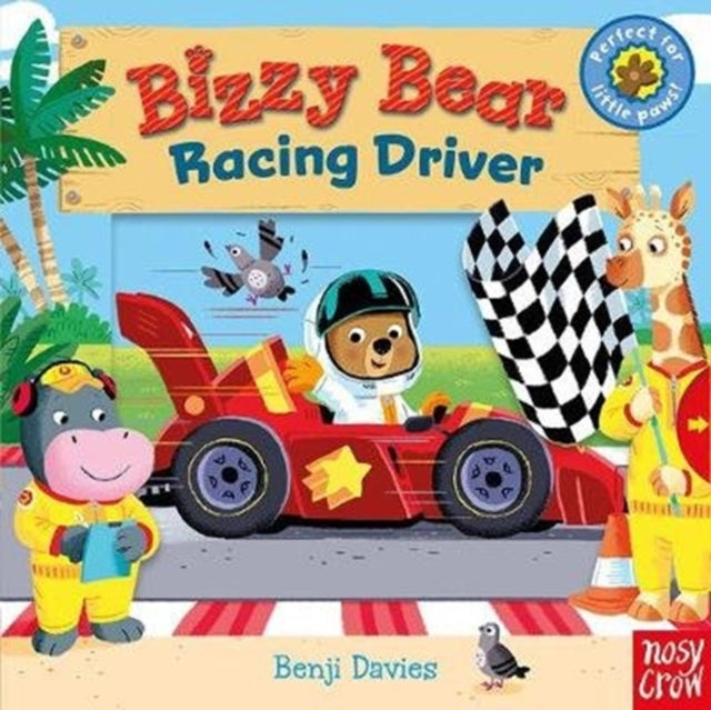 Bizzy Bear: Racing Driver-9781788002448