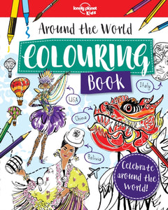 Around the World Colouring Book-9781788681117