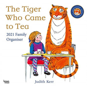TIGER WHO CAME TO TEA FAMILY ORGANISER 2-9781789933550