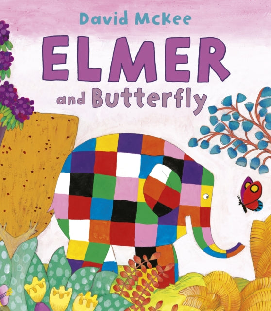 Elmer and Butterfly-9781842709382