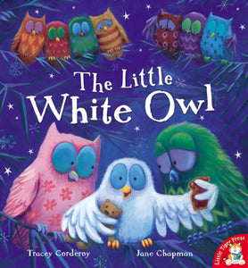 The Little White Owl-9781848950863