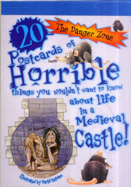 20 POSTCARDS OF HORRIBLE THINGS/CASTLE-9781908177056