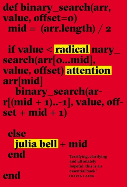 Radical Attention-9781999922375