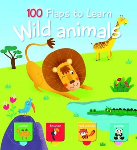 100 Flaps to Learn: Wild Animals-9789463780841