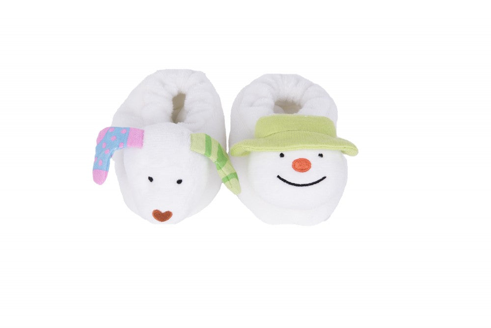 The Snowman Jingle Bell Booties