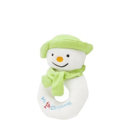 The Snowman Ring Rattle