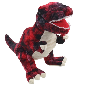 Puppet Company Red T-Rex