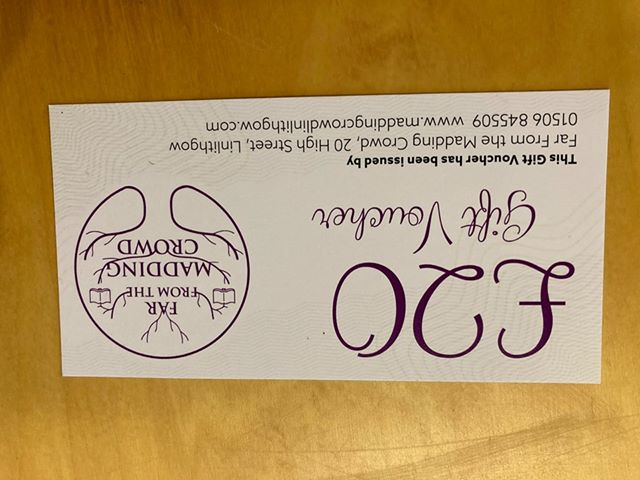 Far From the Madding Crowd Gift Voucher - £20
