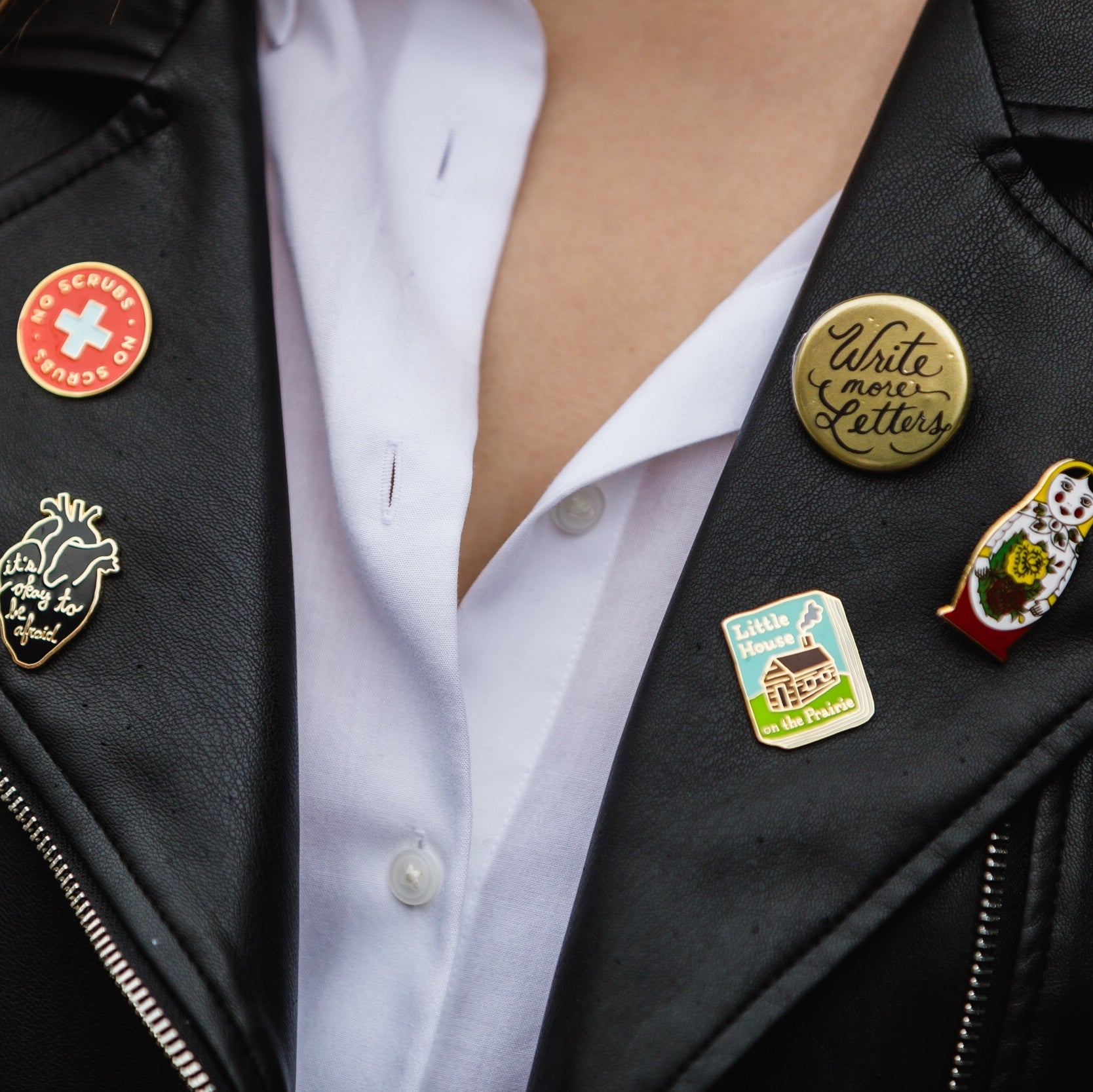 Spotlight On: Pins & Patches