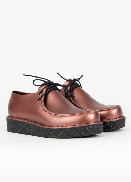 Clementines Melissa Billy Creepers Copper Black Platform Non-Leather Women Shoes Seattle Pair