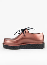 Clementines Melissa Billy Creepers Copper Black Platform Non-Leather Women Shoes Seattle Side View