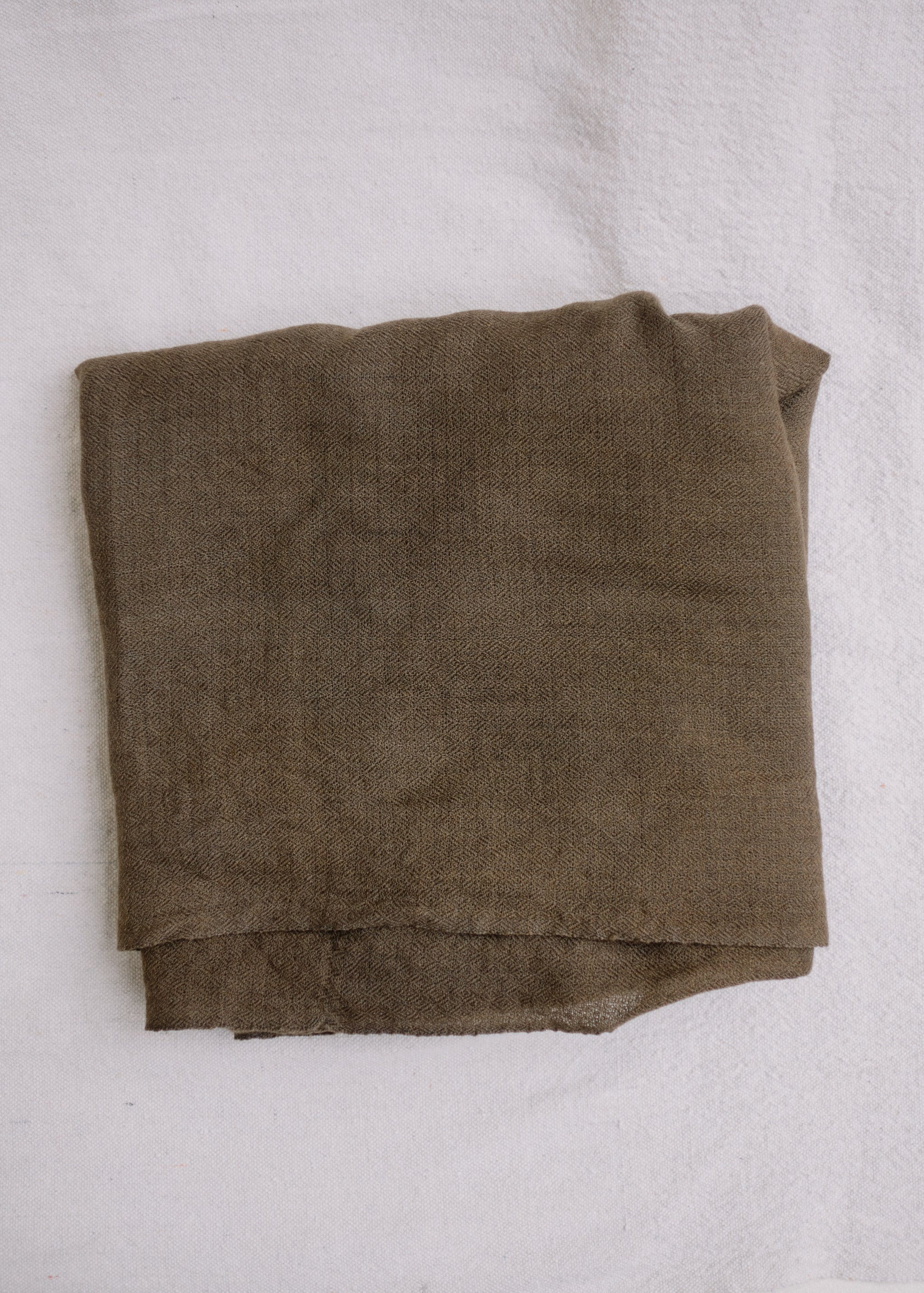 light brown cashmere scarf.