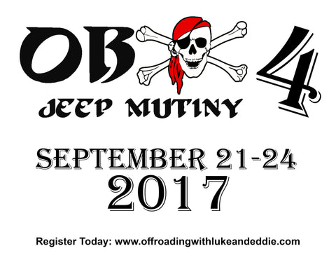 Outer Banks Jeep Mutiny 4 Early Brid Event Registration