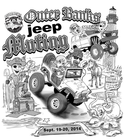 Outer Banks Jeep Mutiny 1 Event Registration