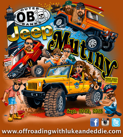 Outer Banks Jeep Mutiny 2 September 10-13, 2015 Event Registration