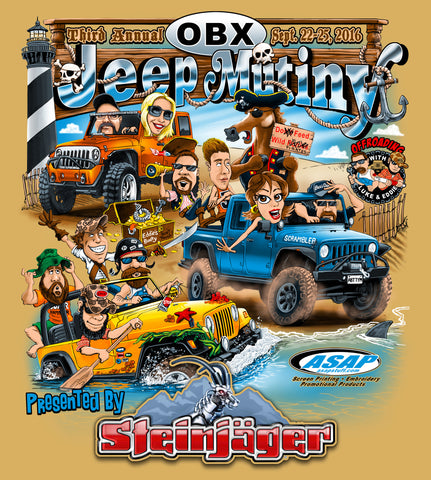 Outer Banks Jeep Mutiny 3 Registration