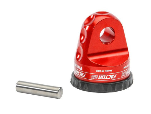 ProLink Loaded Winch Shackle Mount Assembly Red