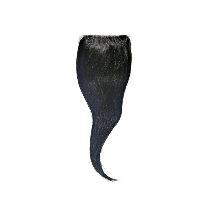 Malaysian Silky Straight Closure%100 Virgin Human Hair - Hiya Beauty Supply