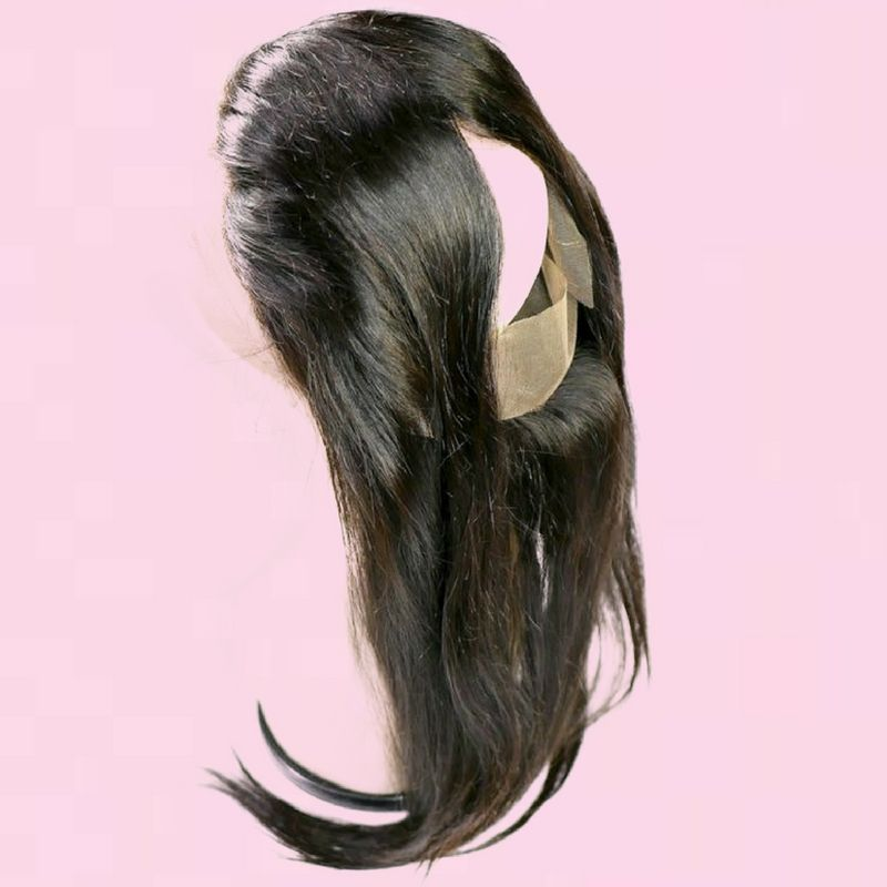 Brazilian 360 Straight Frontal %100 Virgin Human Hair - Hiya Beauty Supply