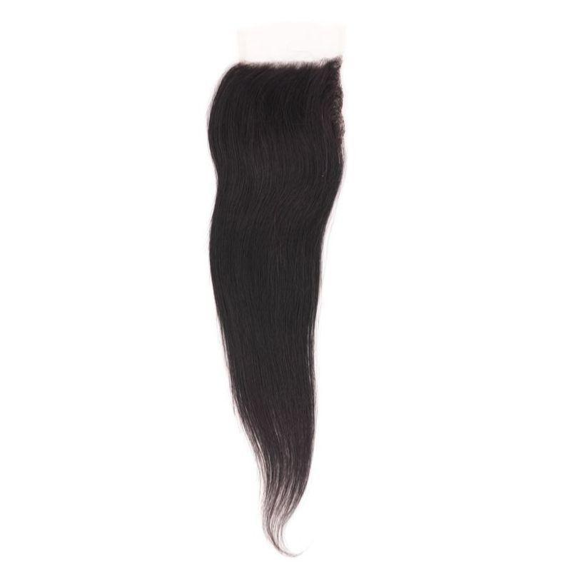 Brazilian Silky Straight HD Closure %100 Virgin Human Hair - Hiya Beauty Supply