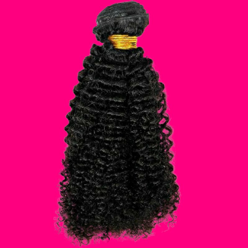 Brazilian Afro Kinky %100 Virgin Human Hair - Hiya Beauty Supply