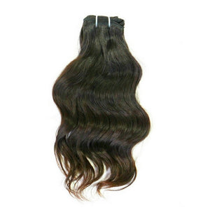 Indian Wavy %100 Virgin Human Hair Extensions - Hiya Beauty Supply